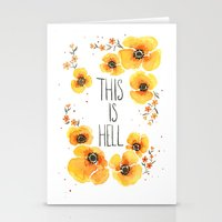 This is Hell Stationery Cards