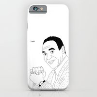 iPhone & iPod Case featuring Bill Cosby - I exist  by Michael Seymour Blake