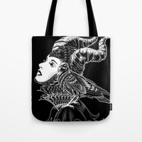 Maleficent Tribute Tote Bag