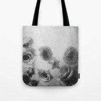 Falling Flowers Variatio… Tote Bag