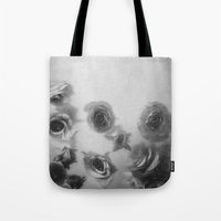 Falling Flowers Variation 1 Tote Bag