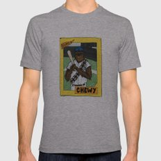 Wookiee Of The Year Mens Fitted Tee Athletic Grey SMALL