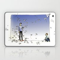 Paper Dart Laptop & iPad Skin