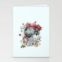Beautiful Brain Stationery Cards