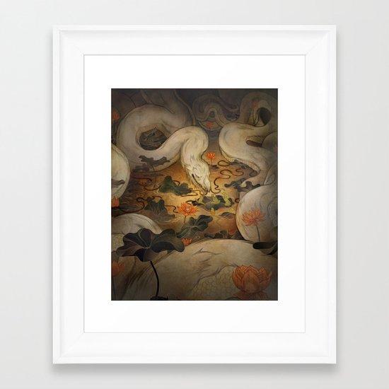 The Kings Request Framed Art Print