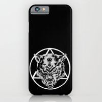 Staring wolf iPhone 6 Slim Case