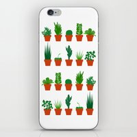 Small Plants iPhone & iPod Skin