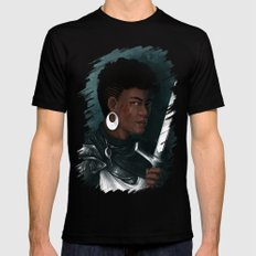 Knight SMALL Black Mens Fitted Tee