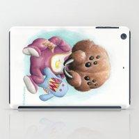 Sblinkeee and Her Bonac Bubbie iPad Case