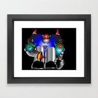Robo Framed Art Print