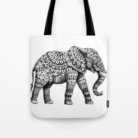 Ornate Elephant 3.0 Tote Bag