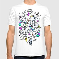 Follow Your Dreams Mens Fitted Tee White SMALL