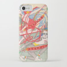 The Legendary Panda Brother & Dragon Sister  / Original A4 Illustration / Colored Pencil & Ink Slim Case iPhone 7