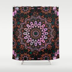 FEZ Moroccan Tiles {4f} Shower Curtain