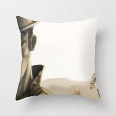 duel Throw Pillow
