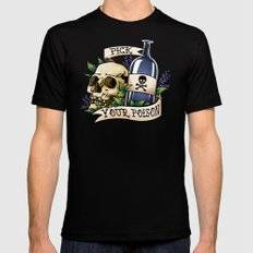 Pick Your Poison Mens Fitted Tee Black SMALL