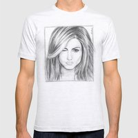 Jennifer Aniston Mens Fitted Tee Ash Grey SMALL