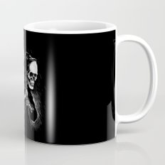 DEATH WILL HAVE HIS DAY Mug
