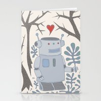 Robot Stationery Cards