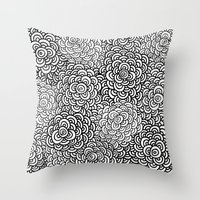 Scallop Bombs Throw Pillow