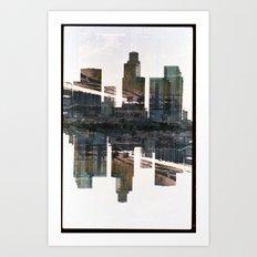 Landscapes c3 (35mm Double Exposure) Art Print