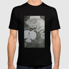 Lost City SMALL Black Mens Fitted Tee