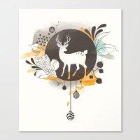 Hi Deer ! Canvas Print