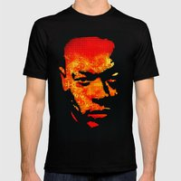 Dre Mens Fitted Tee Black SMALL