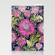 Shabby Flowers #1 Stationery Cards