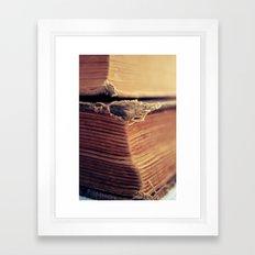 Reading Corner Framed Art Print