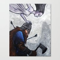 Chosen Canvas Print