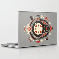 Laptop & iPad Skin featuring A New Wind by The Art of Danny Haas