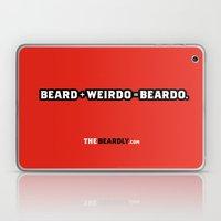 BEARD + WEIRDO = BEARDO. Laptop & iPad Skin