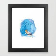 Take me under your wing Framed Art Print