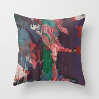 Untitled 20151230a (Arra… Throw Pillow