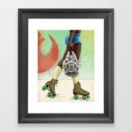 Skate Wars - Rebel Allia… Framed Art Print