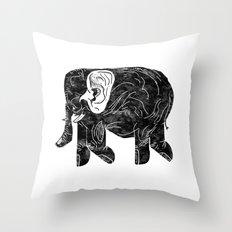 Phingerfant Throw Pillow