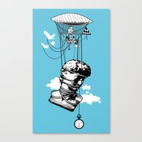 The Skies Are Full Of Strange Things Canvas Print