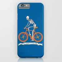 iPhone & iPod Case featuring La morte va in bicicletta by Andrew Henry