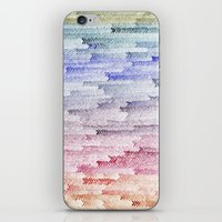 painted waterfall iPhone & iPod Skin