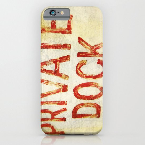 """""""Private Dock"""" iPhone & iPod Case"""