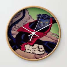 The Amazing Nightcrawler Wall Clock
