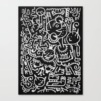 Moonbeasts Canvas Print