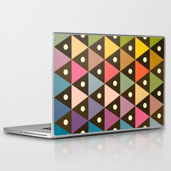 Cosmic Triangles Laptop & iPad Skin