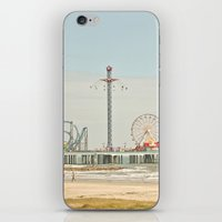 Pleasure Pier Galveston Fun iPhone & iPod Skin