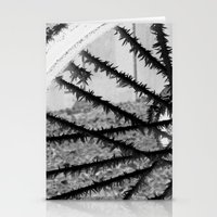 Winter Spoke Its Intenti… Stationery Cards