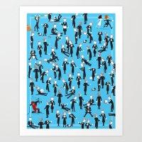 Where's Woody? Art Print