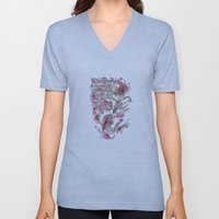 Egon Bondy's Happy Heart… Unisex V-Neck