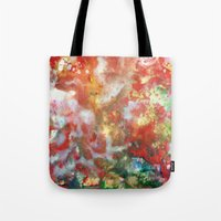 Enaustic Galaxy  Tote Bag