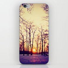 Nothing Gold Can Stay iPhone & iPod Skin